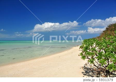 沖縄 竹富島 コンドイビーチの風景 5931379