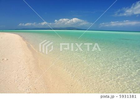 沖縄 竹富島 コンドイビーチの風景 5931381