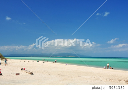 沖縄 竹富島 コンドイビーチの風景 5931382