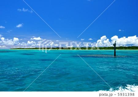 沖縄 竹富航路の風景写真 5931398