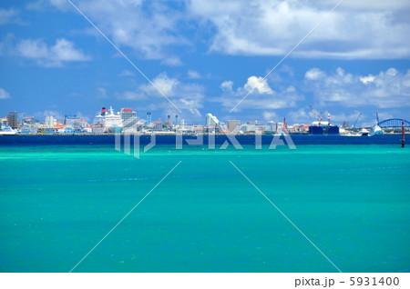 沖縄 竹富島から石垣島の風景 5931400