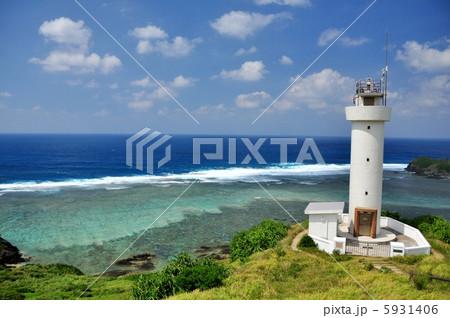 沖縄 石垣島 平久保灯台からの風景 5931406