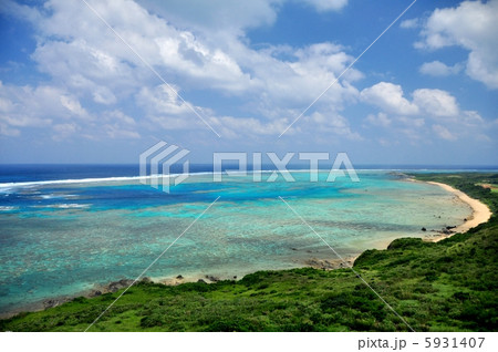 沖縄 石垣島 平久保灯台からの風景 5931407