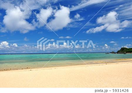 沖縄 石垣島 明石ビーチの風景写真 5931426