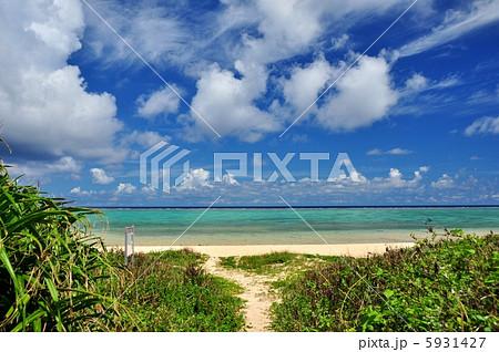 沖縄 石垣島 明石ビーチの風景写真 5931427