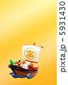 宝船 宝舟 へび年の写真 5931430