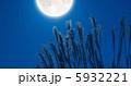 月とすすき 5932221