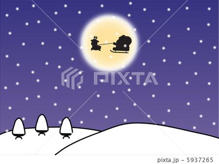 クリスマスのイラスト 5937265