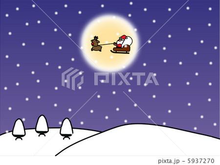 クリスマスのイラスト 5937270