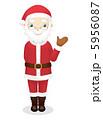 サンタさん クリスマスイブ サンタのイラスト 5956087