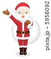 サンタ サンタクロース サンタさんのイラスト 5956092