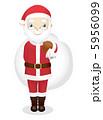 サンタ サンタクロース サンタさんのイラスト 5956099