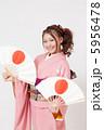 晴れ着 振袖 女性の写真 5956478