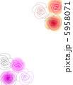 ベクター バラ 花のイラスト 5958071