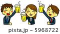 OL ビジネスウーマン 飲み会のイラスト 5968722