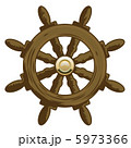 Wheel Vector Icon. Marine collection. 5973366