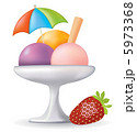 Vector Ice Cream. Restaurant Collection. 5973368