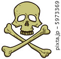 Skull. Pirate Sign. Marine Vector Collection. 5973369