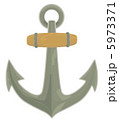 Vector Anchor Icon. Marine Collection. 5973371