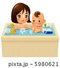 親子で入浴 5980621