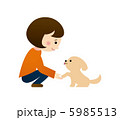 犬と人 5985513