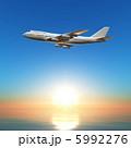 飛行機 5992276