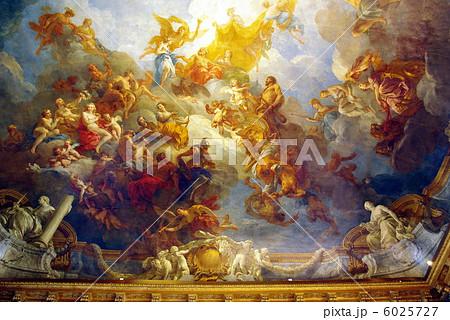 ヴェルサイユ宮殿のヘラクレスの間の天井画 6025727