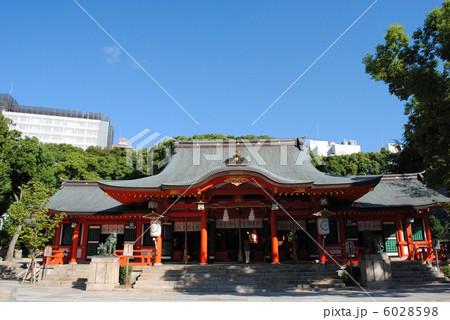 生田神社の本殿です。(神戸市中央区) 6028598
