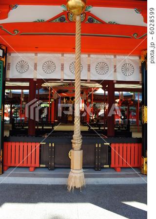 生田神社の本殿です。(神戸市中央区) 6028599
