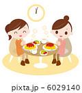 昼食 ランチタイム お昼ご飯のイラスト 6029140