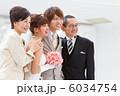 結婚式での家族写真 6034754