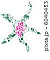 ひとで ヒトデ 海星のイラスト 6040453