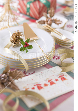 クリスマスイメージ 食器 6059351