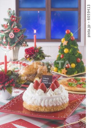 クリスマスイメージ ディナー 6059413