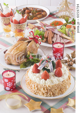 クリスマスイメージ ディナー 6059794