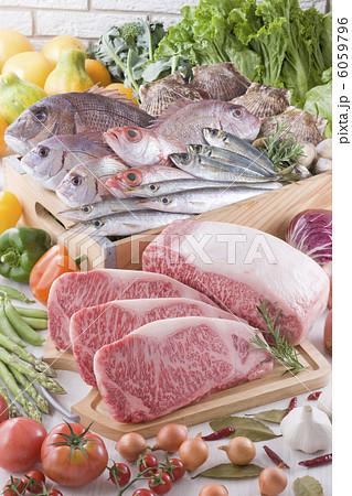 生鮮食品集合イメージ 6059796
