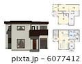 戸建住宅 戸建 一軒家のイラスト 6077412