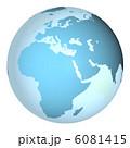 世界地図 地球儀 地球のイラスト 6081415