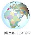 世界地図 地球儀 地球のイラスト 6081417