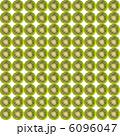 輪切りキウイフルーツの繰り返しパターン素材 6096047