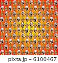 招き猫と門松の繰り返しパターン素材(グラデーション背景) 6100467