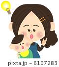 ひらめく親子 6107283