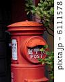 赤ポスト 郵便ポスト 郵便投函箱の写真 6111578