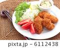 揚げ物 カキフライ 牡蠣フライの写真 6112438