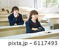女子高生 男子 受験生の写真 6117493