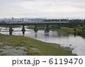 多摩川 南武線 川の写真 6119470