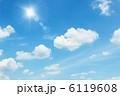 空 青空 雲の写真 6119608