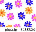 レトロな花柄 6135320