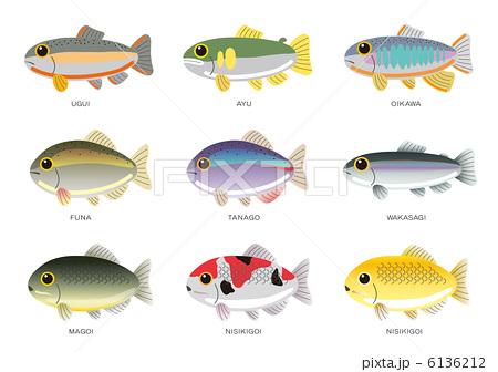 すべての講義 魚釣り 絵 : 淡水魚 6136212