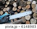 電動工具 チェーンソー たき木の写真 6148983